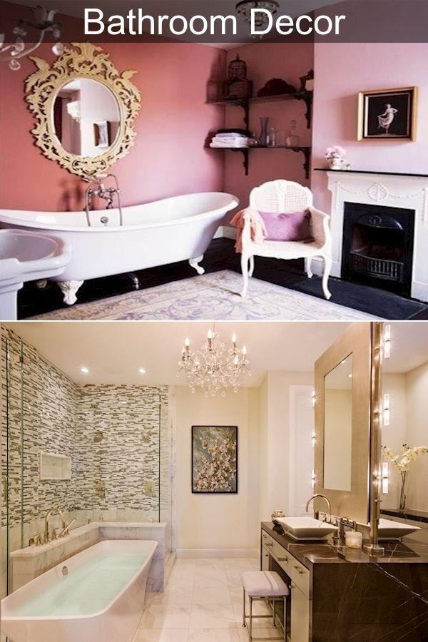 Toilet Decor Peach Bathroom Set, Peach And Gray Bathroom Decor