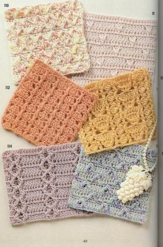 262 FREE Crochet patterns~ charts only