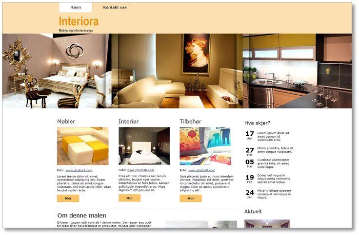 Nettside-design fra WebAdapt - Nettside-design fra WebAdaptNedenfor vises eksempler på hvordan en nettside fra oss kan se ut Om du ønsker, kan du bruke dem som utgangspunkt og inspirasjon for ditt eget nettsted Finner du ikke det du er ute etter her,