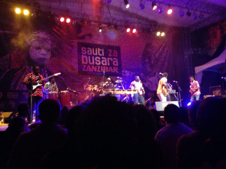 Music festival in Zanzibar