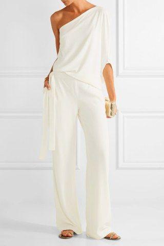 Vestidos de novia con pantalones