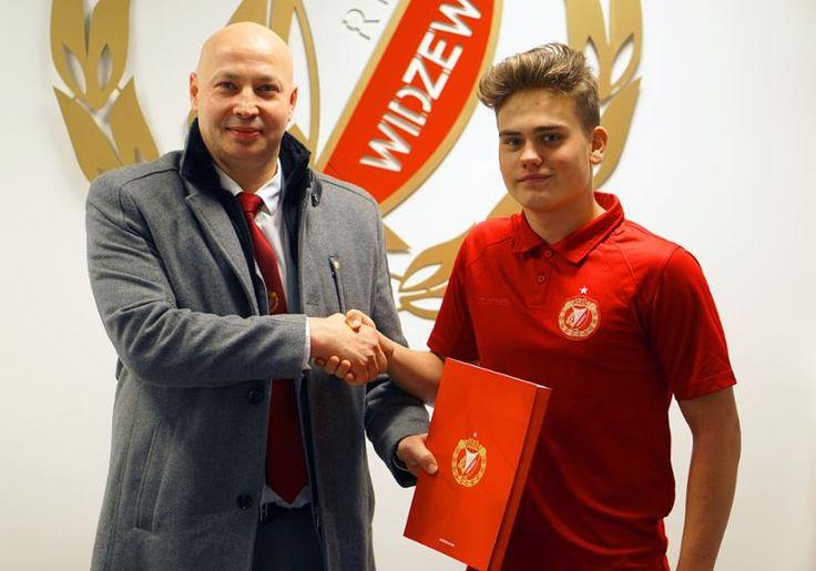 Skierniewiczanin podpisał kontrakt z Widzewem Łódź