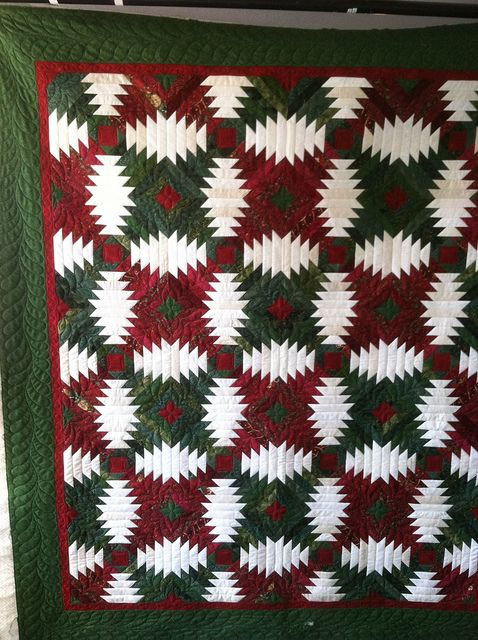 Maybe this would make a good Christmas Quilt