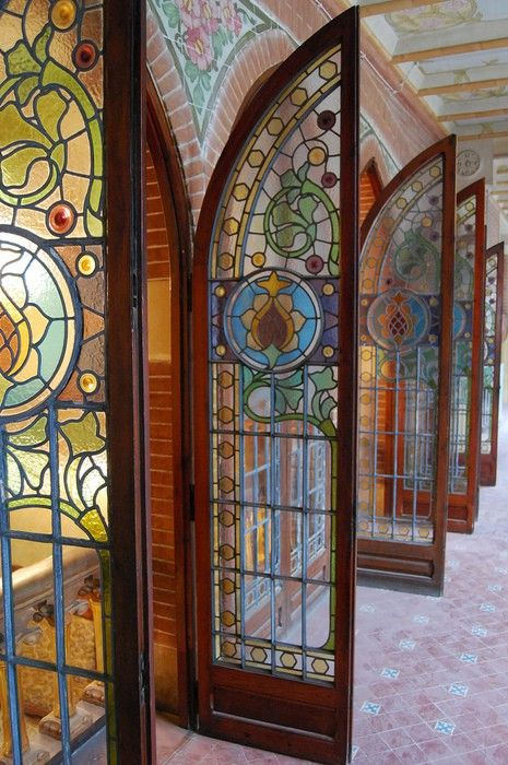 Stained Glass Doors! Romany Soup