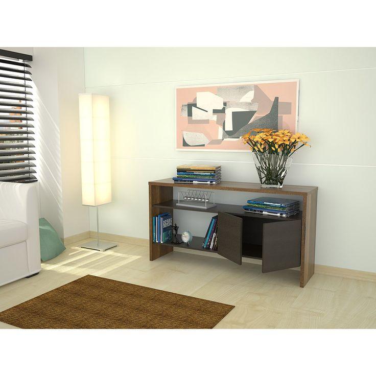 Mesa de arrimo marca tuhome modelo classic color vedra for Mueble 25 cm ancho