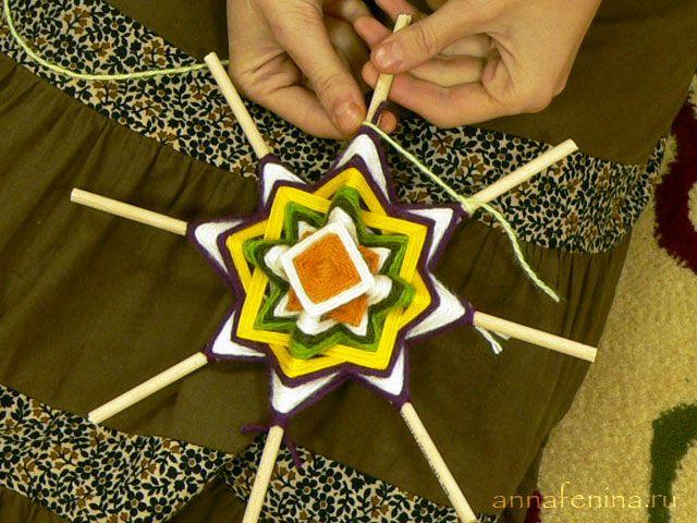 Плетение мандалы - Марья искусница - сайт о рукоделии