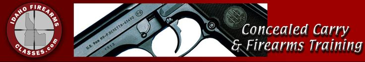 Idaho Firearms Classes teaches Concealed Carry and Concealed Weapons classes, Gun Safety, Women's Self Defense and other firearms training. We teach live fire handgun training for beginners to experienced shooters.
