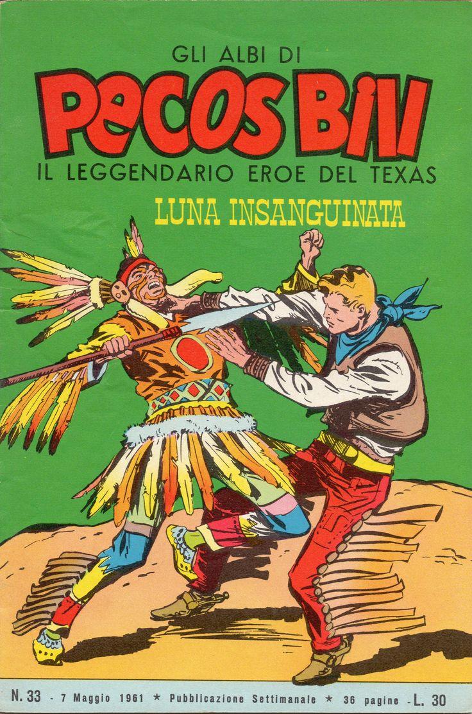 LUNA INSANGUINATA - Albi di Pecos Bill n. 33 - 7 maggio 1961