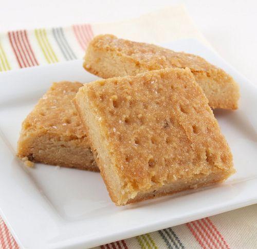 Honey Lavender Shortbread