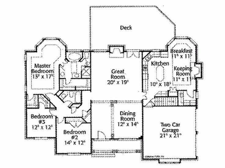 1000 images about keeping room on pinterest house plans for House plans with keeping rooms