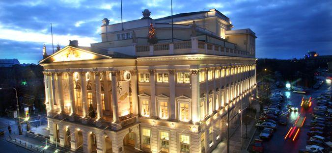 Außenansicht Oper Breslau