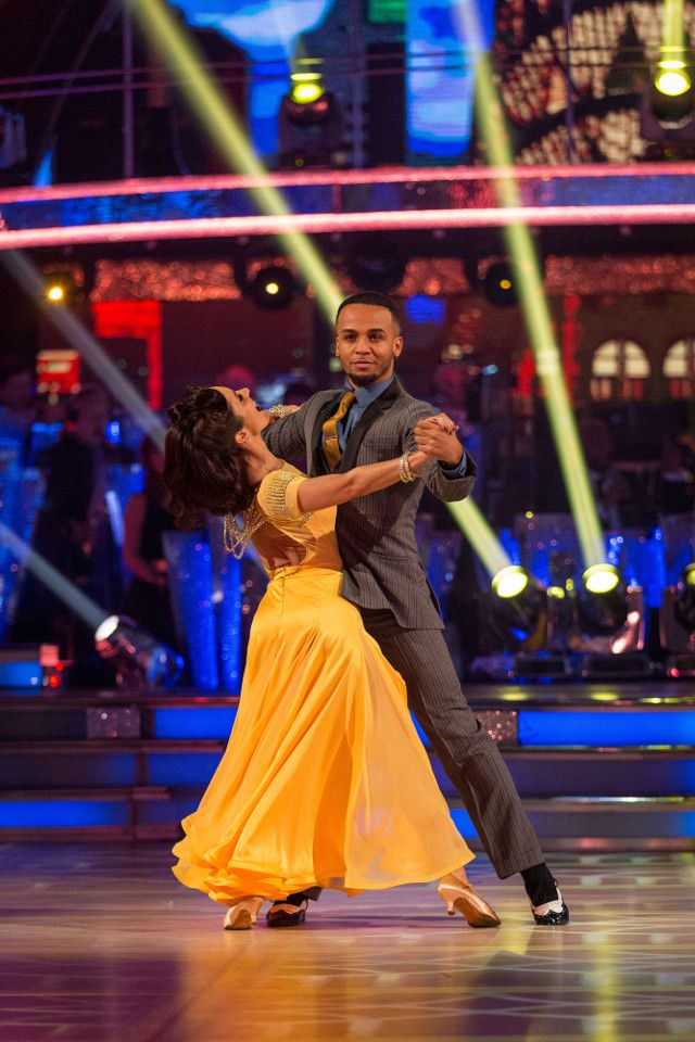 SCD Week 1 2017. Aston Merrygold & Janete Manrara. Foxtrot. TOLB. BBC.Co.Uk/Guy Levy