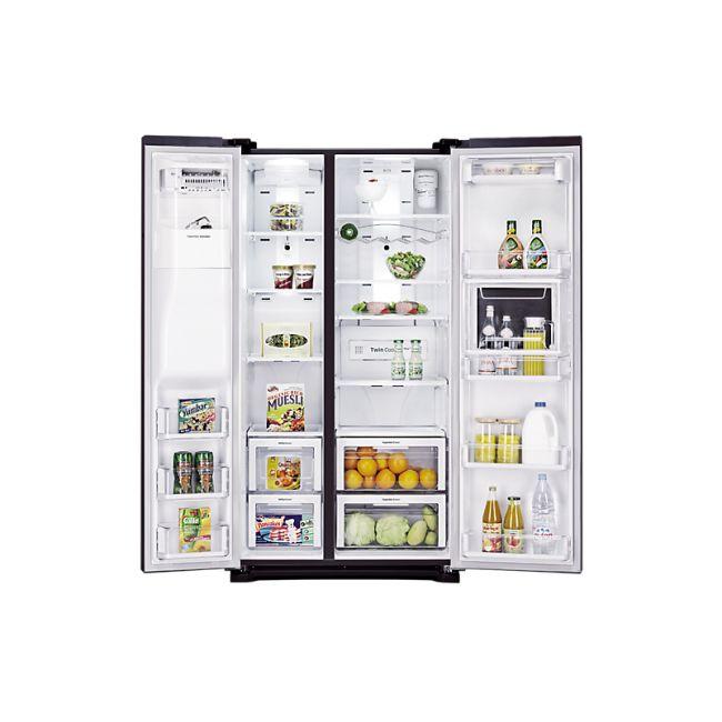 les 25 meilleures id es de la cat gorie refrigerateur americain sur pinterest cuisine. Black Bedroom Furniture Sets. Home Design Ideas