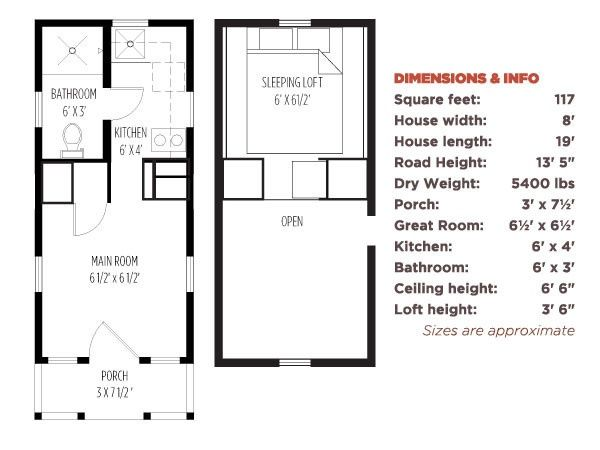 Tumbleweed Tiny House Floor Plans Found On