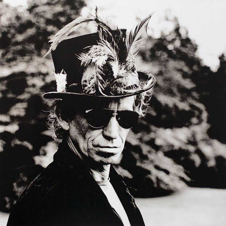 Keith Richards by Anton Corbijn