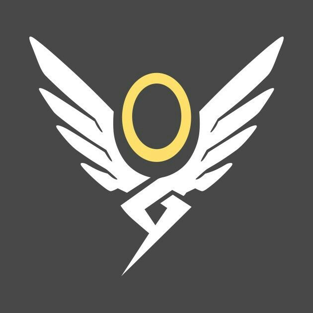 Mercy from Overwatch symbol