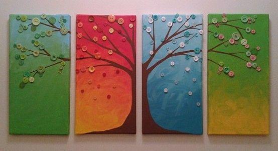 Copaci cu nasturi model 3