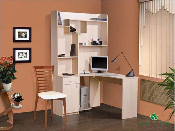 Компьютерный стол Фешион ФК-116, угловой стол с надстройкой, для компьютера, купить в Белой Церкви недорого, онлайн
