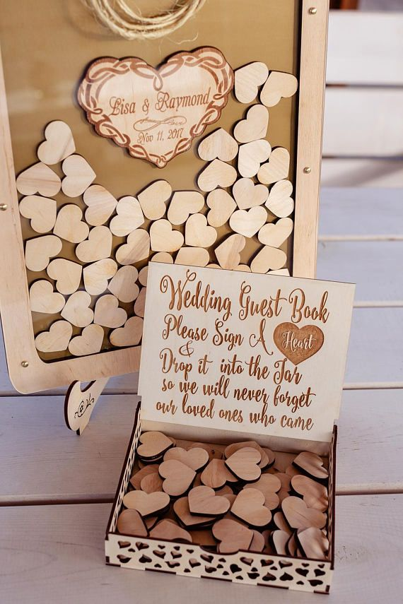 Wedding guest book Drop Box guest book Mason Jar guest book Guest memory ideas Unique wedding guest book Alternative guest book Drop Top
