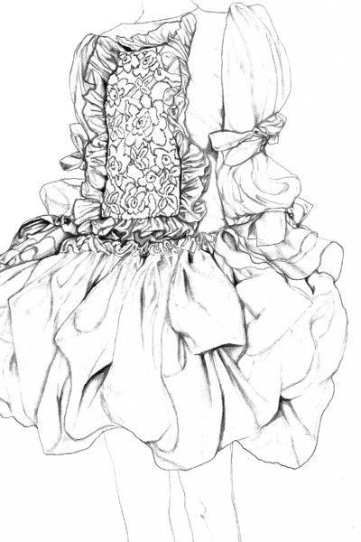 2 015 последний год Иллюстрация | Университет визуальной портфолио Вестминстера | BOF Карьера | Бизнес моды