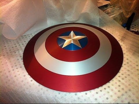 Captain America Shield: DIY Tutorial-someday when i have skills....