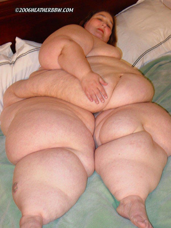 Obese naked people — photo 4