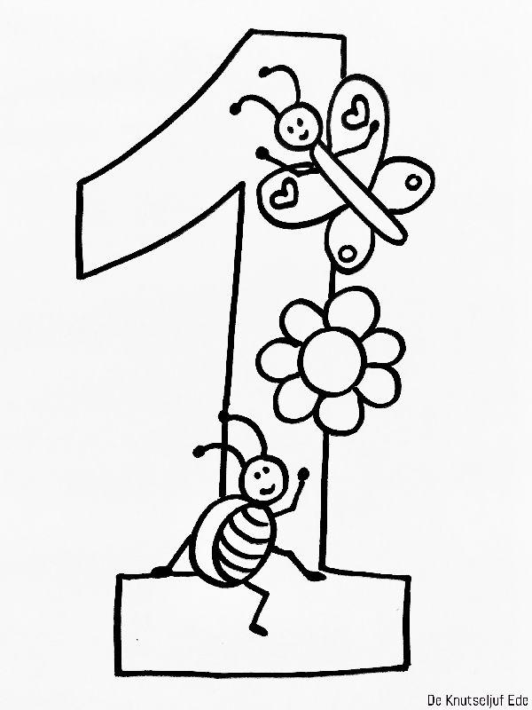 Cijfers Mandala Kleurplaten Brekelmansadviesgroep