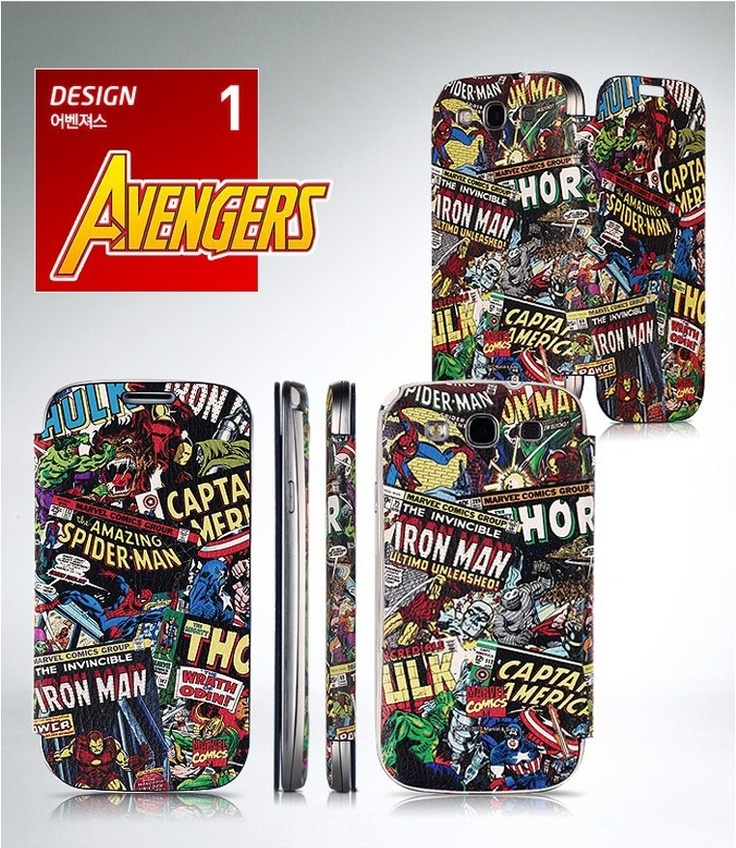 ★Marvle Comics Case★Genuine Goods★ www.mosket.com / It is a site where you can purchase wholesale Korean products. Related products for wholesale purchase, please contact marketing@mosket.com. #galaxys3 #flip #case #mosket #wholesale #making #cellphone #accessory #mobile