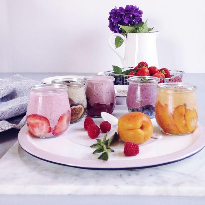 timo e basilico: Tutti Frutti {budino ai semi di chia e frutta}