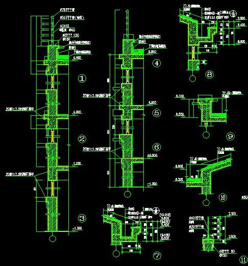 Architecture Details】-Cad Drawings Download