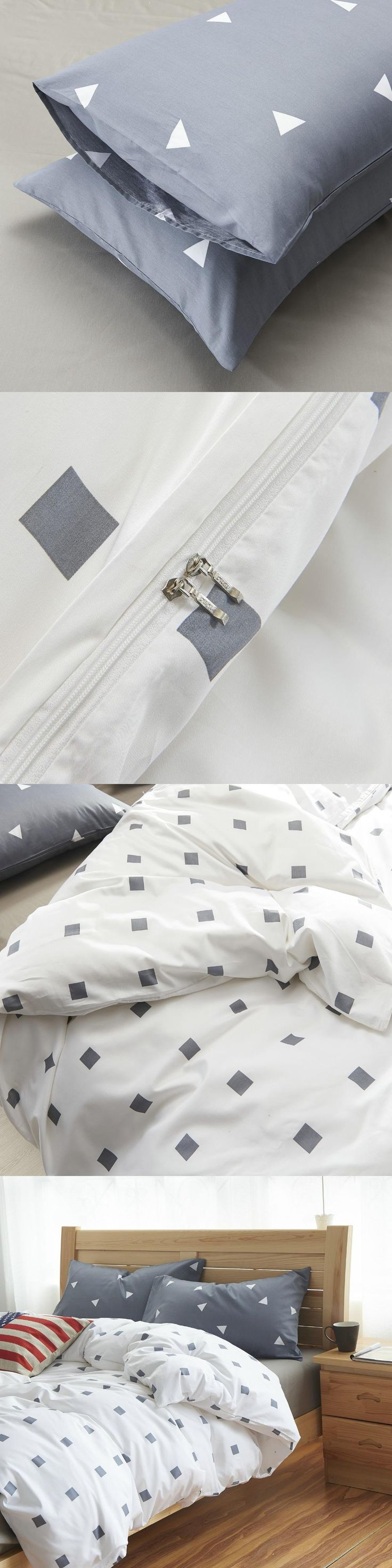 fresh simple northern europe style ab version of bedding sets size duvet cover set