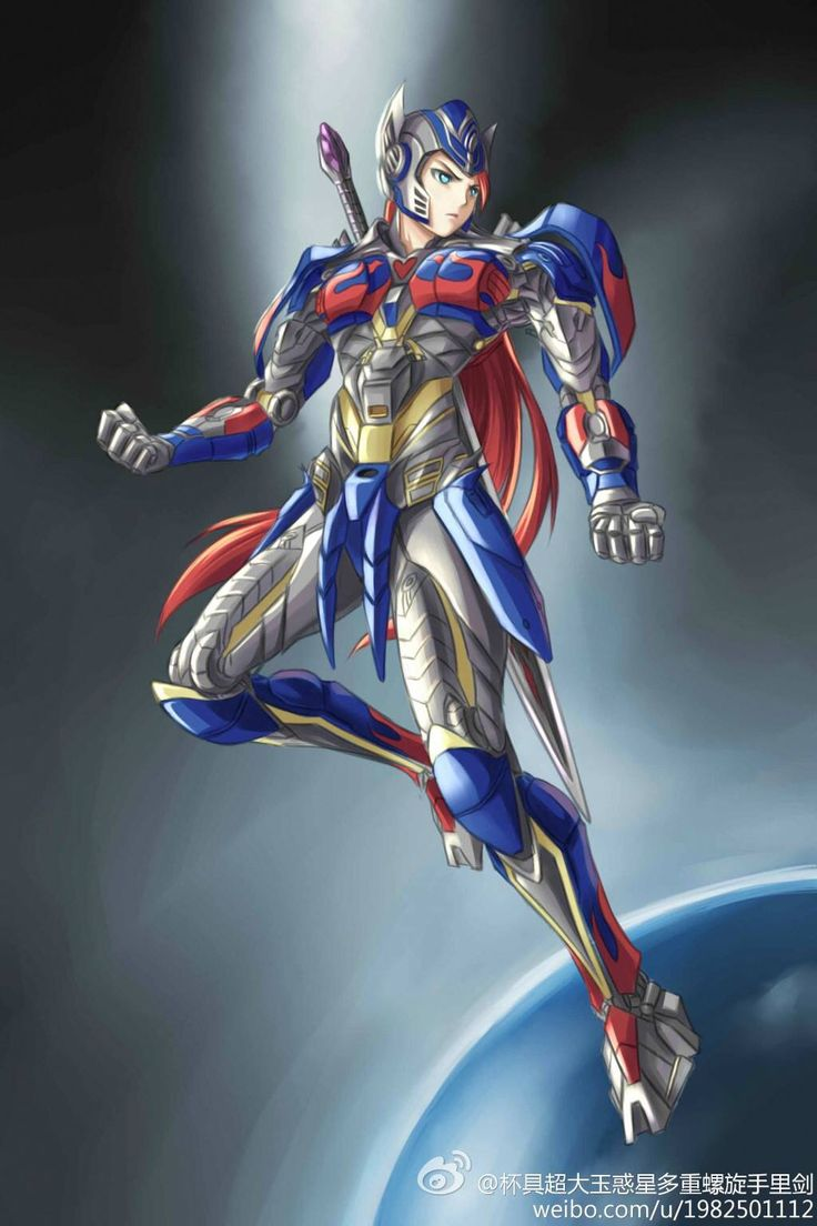 Anime Girl as Transformers Age of Extinction Optimus Prime  SO FAB    Transformers Age Of Extinction Optimus Prime Fan Art
