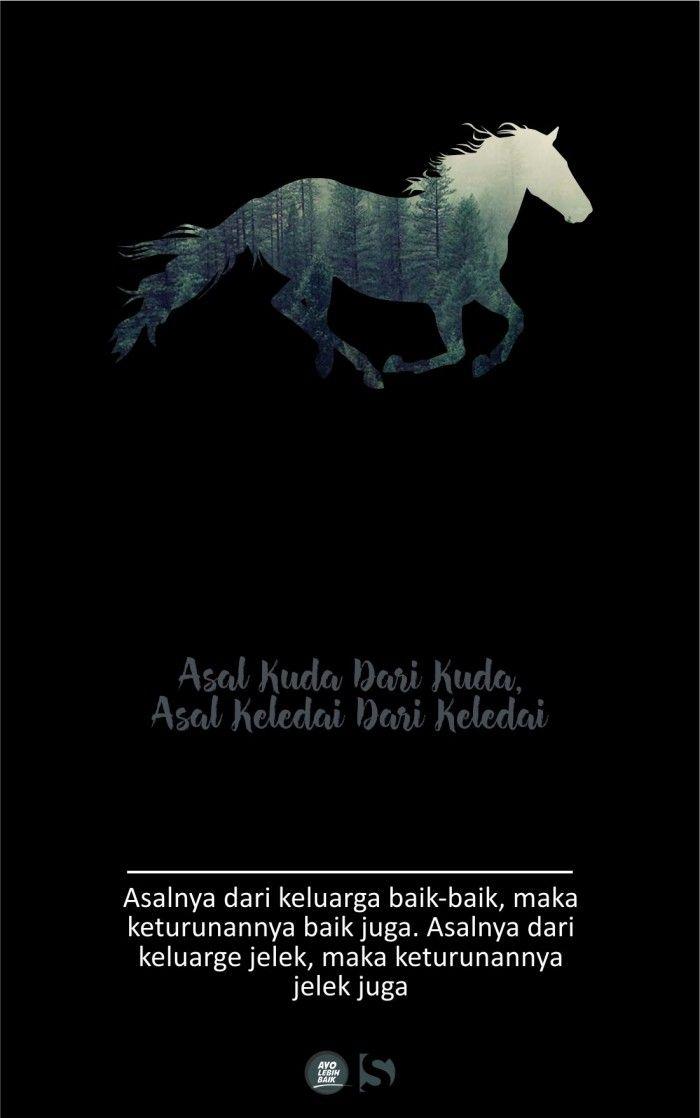 Asal Kuda dari Kuda, Asal Keledai Dari Keledai