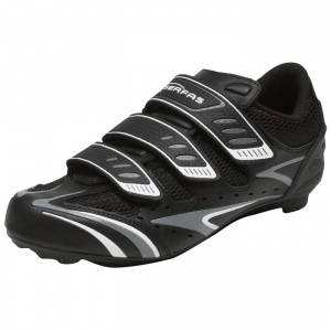 SALE - Serfas Interval Athletic Cleats Mens Black Leather - WAS $85.00 - SAVE $34.00. BUY Now - ONLY $50.99