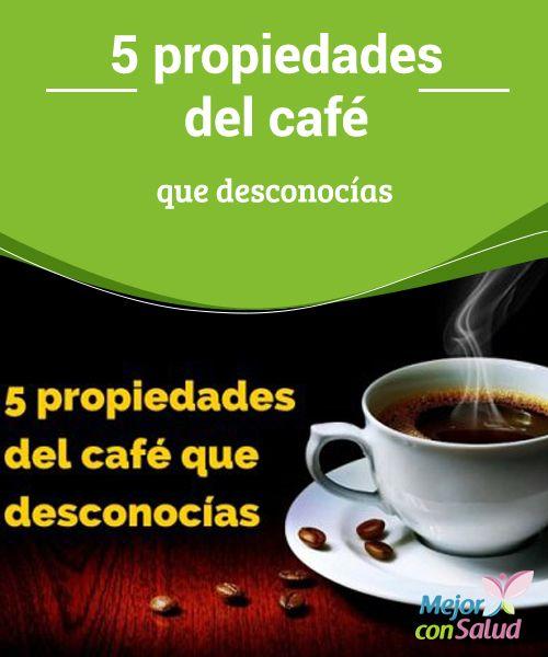 5 propiedades del café que desconocías  A día de hoy el café es la segunda bebida natural más consumida del mundo, por detrás, claro está, del té.