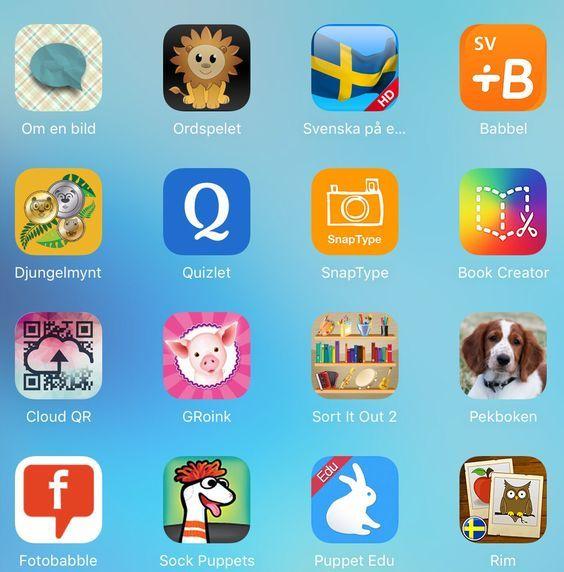 gratis appar för barn i förskolan