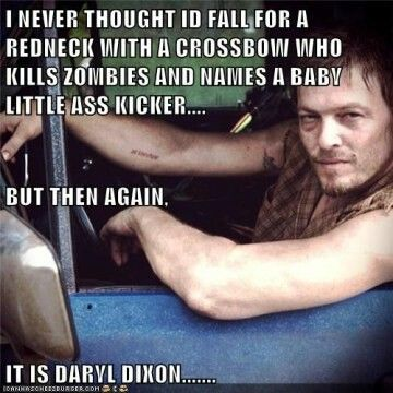 So true! Love me some daryl!                                                                                                                                                                                 More