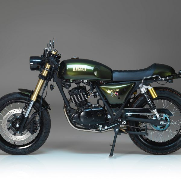 Bullit Spirit 125 125 Race Green | Cars and motorcycles