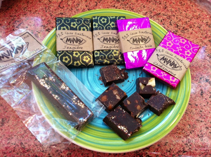 Vegan chocolates! Munay