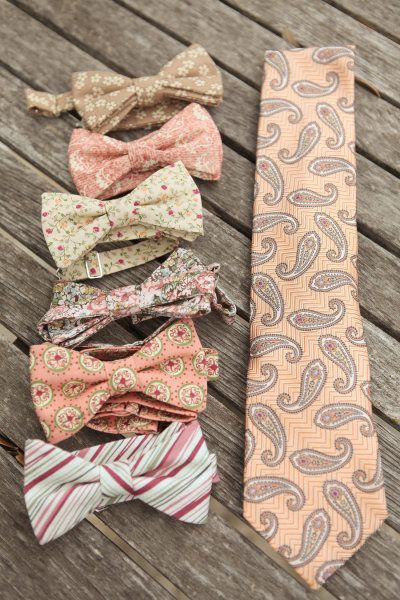 Lovely mix of paisley and florals. Rustic and vintage feel. love these colors for a wedding, long tie for the groom!