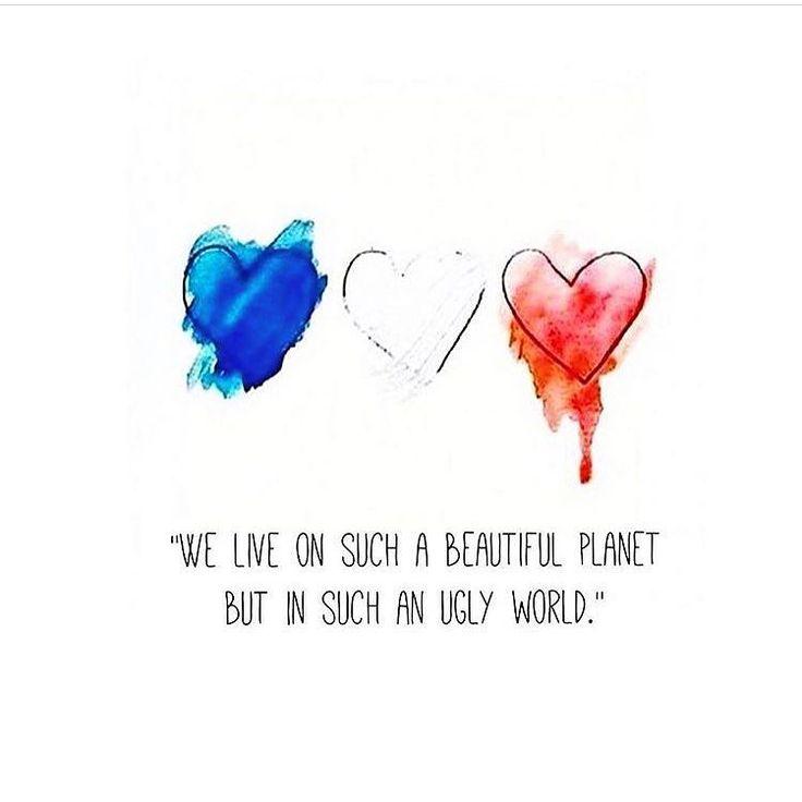 Sad morning.... #prayfornice #prayfortheworld  #peace