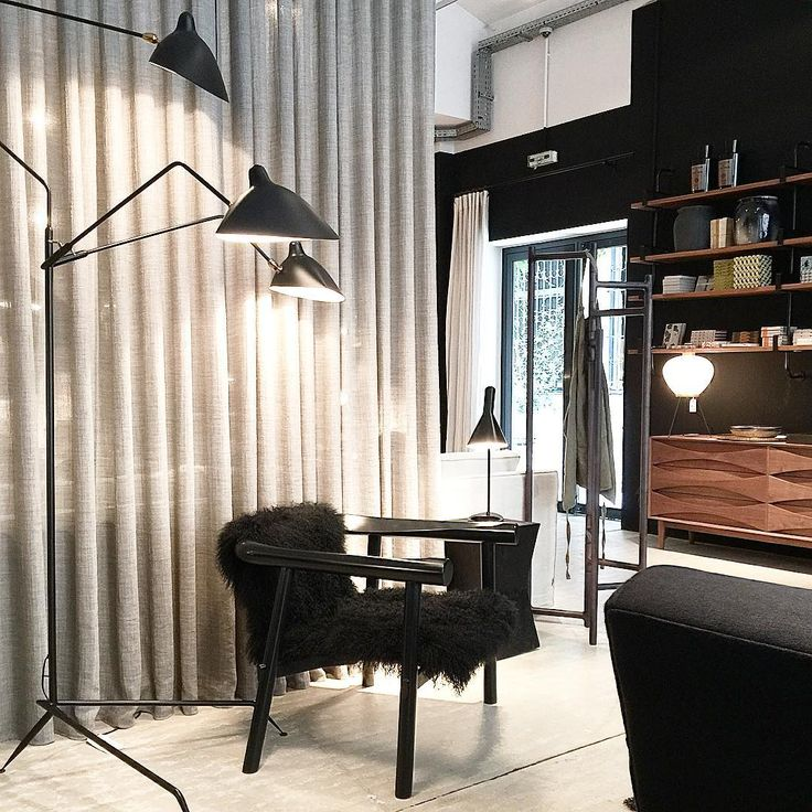Serge Mouille Three Arm Floor Lamp  http://www.zoralighting.com/serge-mouille-lighting/serge-mouille-three-arm-floor-lamp