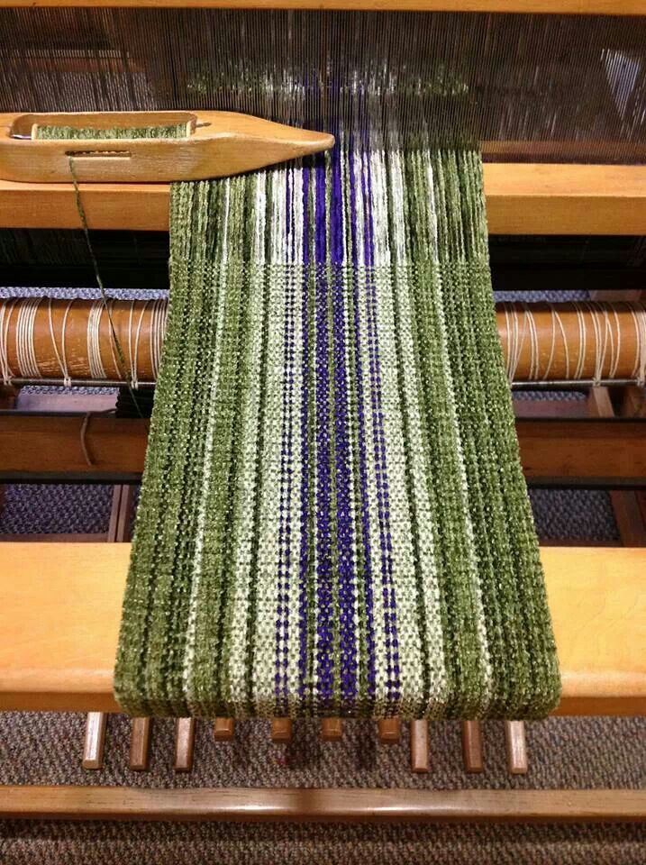 Chenille scarf, like the warp and weft are both chenille