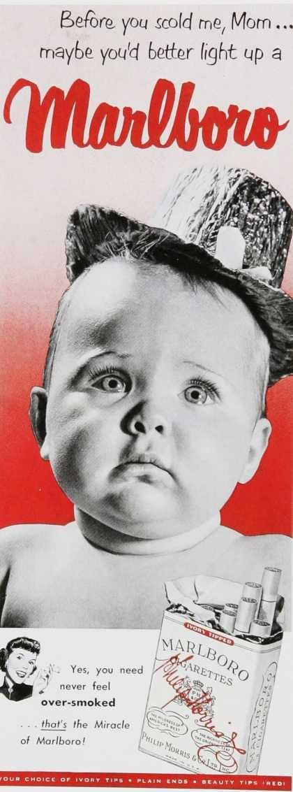 Bewildering and Intriguing:  25 Vintage Ads Featuring Babies