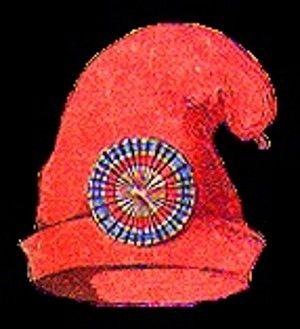 Le bonnet phrygien des révolutionnaires , un des  symboles de la révolution qui sera celui de la France avec  le drapeau français bleu blanc rouge, la Marseillaise,  la  devise « liberté-égalité-fraternité », et Marianne.