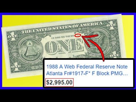(2) $1 Bill WORTH THOUSANDS! Check If You Have One…