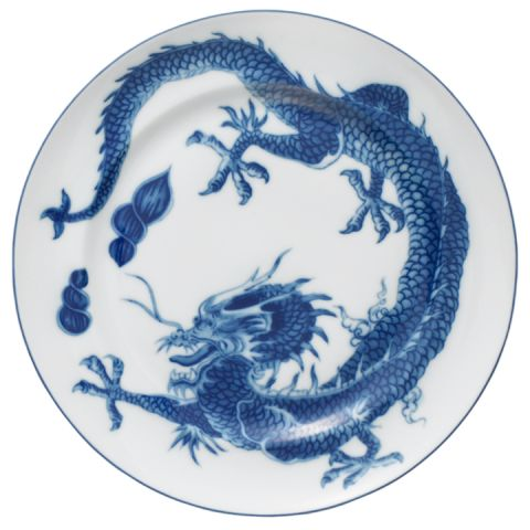 Blue Dragon Dinnerware | Gracious Style