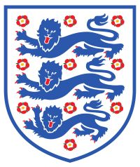 England National Team Shirt badge/Association crest pays homage to Richard the Lionheart! This WIKI site is very comprehensive. If you love England soccer-or just want to learn for conversation purposes - check it out. http://en.wikipedia.org/wiki/England_national_football_team#