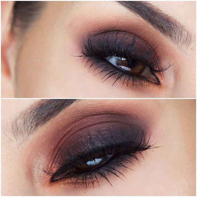 ✧・゚. angrydinosaurx ✧* Amazing blended brown and black eyeshadow