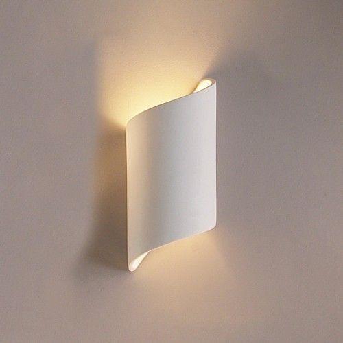 "5"" Contemporary Cylinder Ribbon Wall Sconce - Contemporary Ceramic Interior Wall Sconces - Modern & Contemporary Interior Wall Lights - Interior Wall Lights | Fabby.com"